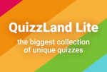 Quizzland trivia game. Lite version